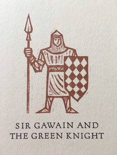 The Limited Edition Club; Sir Gawain and The Green Knight - 1971