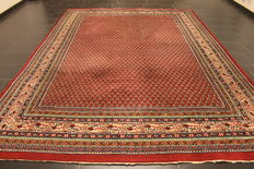 Magnificent hand-knotted oriental palace carpet - Sarouk Mir - 240 x 335 cm - Made in India - excellent highland wool - circa 1990
