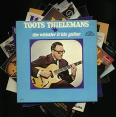 High condition lot of ten guitar-jazz albums - Ten albums by Wes Montgomery (6) and Toots Thielemans (4)