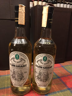 Glen Grant 1971 & 1972 - 5 years old - OB
