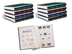 Accessories, eight Leuchtturm stockbooks with 48 white pages