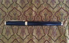 Noblese Oblige by Montblanc Black Composite and Gold Fountain Pen