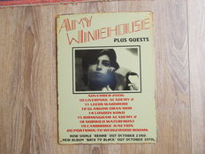 Amy Winehouse  Decorative Concert Shield