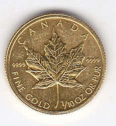 "Canada – 5 dollars 2009 ""Maple Leaf"" – gold"