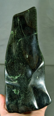 Highly Polished Green Nephrite - 260 x 120 x 80 mm - 2224gm