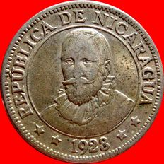 Republic of Nicaragua – 10 cents from Cordoba – Philadelphia- 1928.
