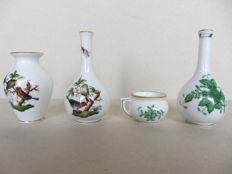 Herend Porcelain - set of 4 miniature items