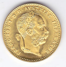 Austria – Ducat 1915, re-strike – Gold