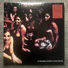 The Jimi Hendrix Experience - 2LP Electric Ladyland - UK Press - Polydor Track Records 613008/613009