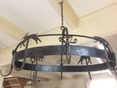 Large oval game rack / fowl crown