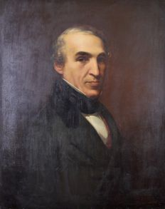 Chouda Benici? (19th century) - Portrait of a gentleman