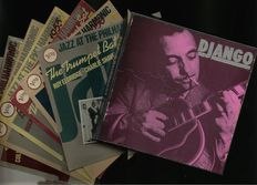 Django Reinhardt Affinity (8) LP Box Set and (6) Verve Jazz at the Philharmonic fantastic recorded vinyl records