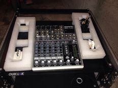 MACKIE 802- VLZ3 WITH 3-SPACE FLY CASE