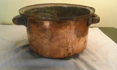 Pot-copper cauldron
