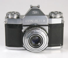 Zeiss Ikon  Contaflex I with Carl Zeiss Tessar 2.8/45 mm
