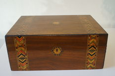 Tunbridge Ware Box - English - circa 1870