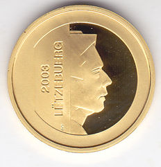 "Luxembourg – 5 euro 2003, ""Central Bank"" – Gold"