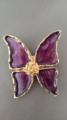 Saint Laurent fantasy brooch