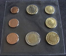Belgium - year series 1 cent up to and including 2 Euros 1999.