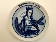 Rosenthal - Christmas plate 1947 Madonna - Louis Hagen