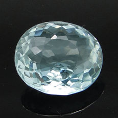 Greenish blue aquamarine – 4.26 ct