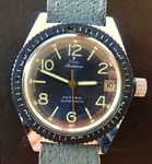 Bekijk onze Stowa Seatime vintage diver's watch - men's wristwatch - 1975
