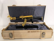 Ray Coster - AK47 Art Against War (Peace Gold)