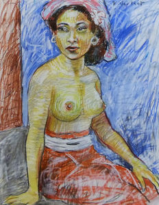 Bart Verlaat (1960) - Indonesian young lady