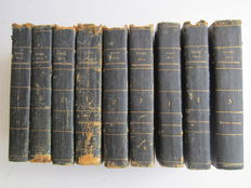 Walter Scott - Tales of a Grandfather, being stories from the history of Scotland - 9 volumes - 1829 / 1830