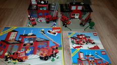Classic Town - 6385 + 6382 - Fire House-I + Fire Station
