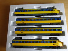 Lima H0 - Hondenkop train set - 4 pieces of the NS