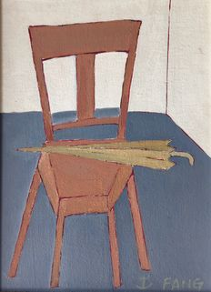 Chen Kong Fang - Chair with Umbrella