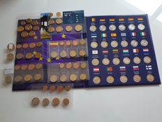 Europe – Case 2 euros (24 coins) 2015 'European Flag' + 7 Euro series (x8 coins)