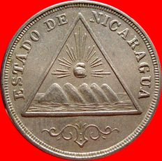 Republic of Nicaragua – 5 cents, 1898