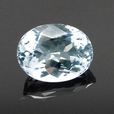Greenish blue aquamarine – 2.94 ct