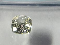 Cushion modified brilliant cut diamond, 0.51 ct J VVS 2 with IGI certificate