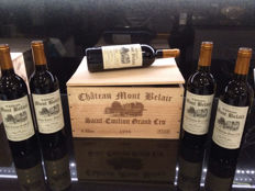 1998 Château Mont Belair, Saint-Emilion Grand Cru 'Cuvée Saint-Hubert' – 6 bottles 750ml in OWC - 92/100pts