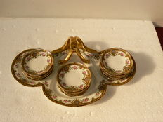 Limoges - decorative set of presentation trays