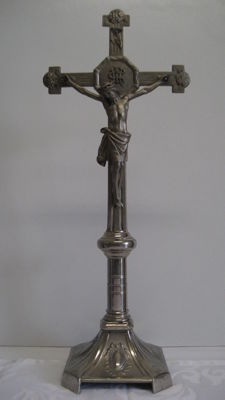 Metal cross, Germany, early 20th century