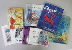 Marc Chagall; Lot with 10 publications - 1963 / 1989