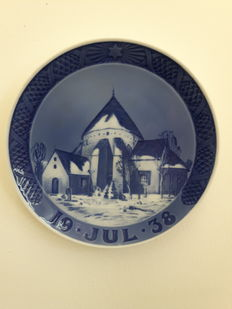 Royal Copenhagen - Christmas plate 1938