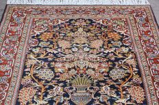 Original & Wonderful  Quom 1200,000 knots M/2 handknotted 130x200cm around 1980