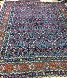 antique Yazd rug(Persian )