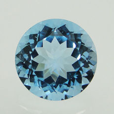 Swiss blue topaz - 12.89 ct