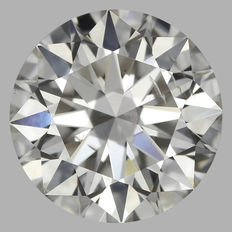 0.50 ct with IGI cert Round Brilliant diamond I SI2  -Original Image-10X - Serial# 1545