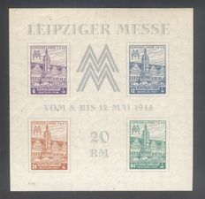 Germany 1946/1959 - Allied Occupation, a small selection