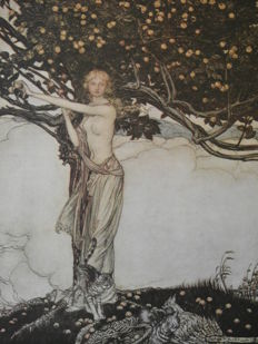 Arthur Rackham; Richard Wagner - The Rhinegold & The Valkyrie - 1920