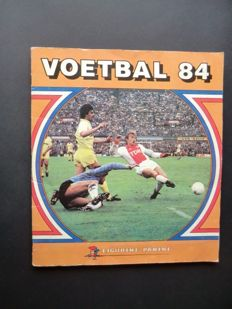 Panini - Voetbal 84 - Complete album - In good condition.