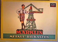 Märklin, Germany - Metal construction toy 10110 - legendary box reissued for the 150th anniversary of the company, 2009