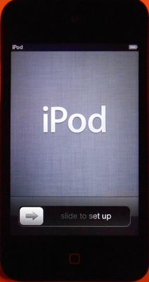 Apple iPod touch boxed 8GB - with Loader, usb cable and EarPods